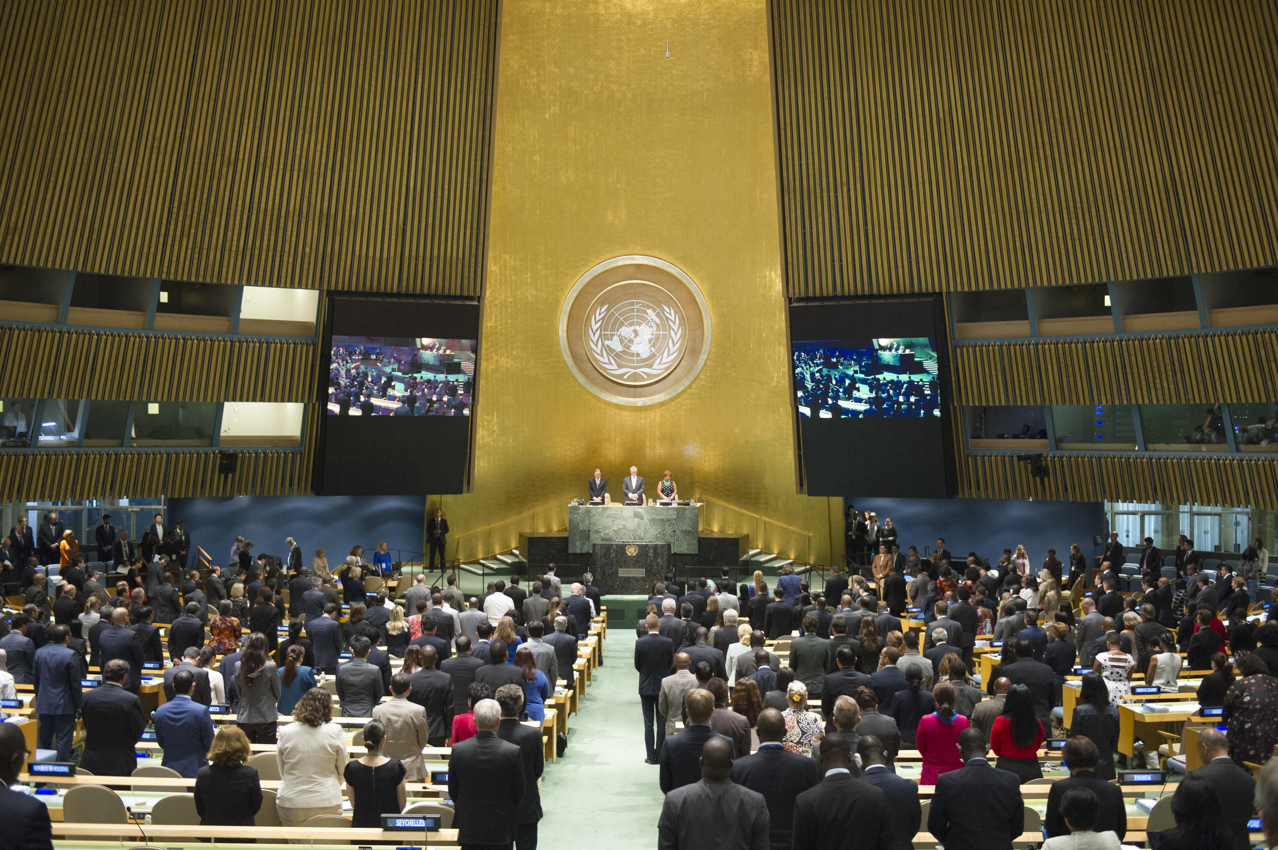 Invitation to Meditate at the UN