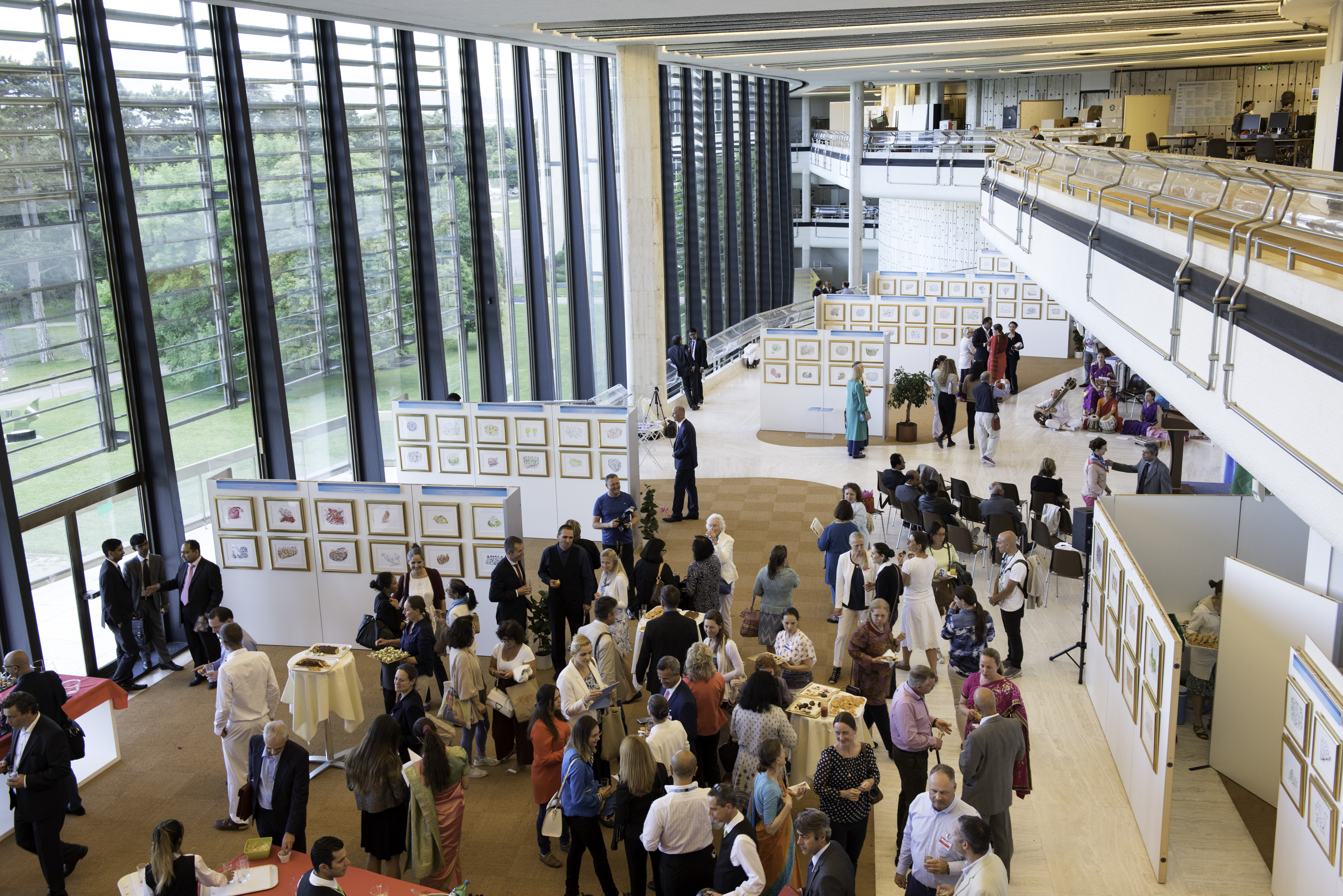 Paintings for World Peace and Harmony, UN Geneva, June 2017